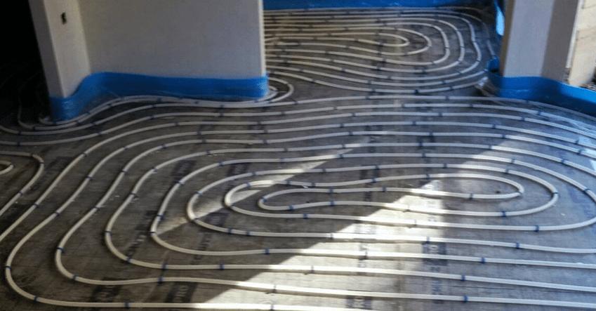 Calefacci n por suelo radiante calidades en una vivienda - Calefaccion radiante ...